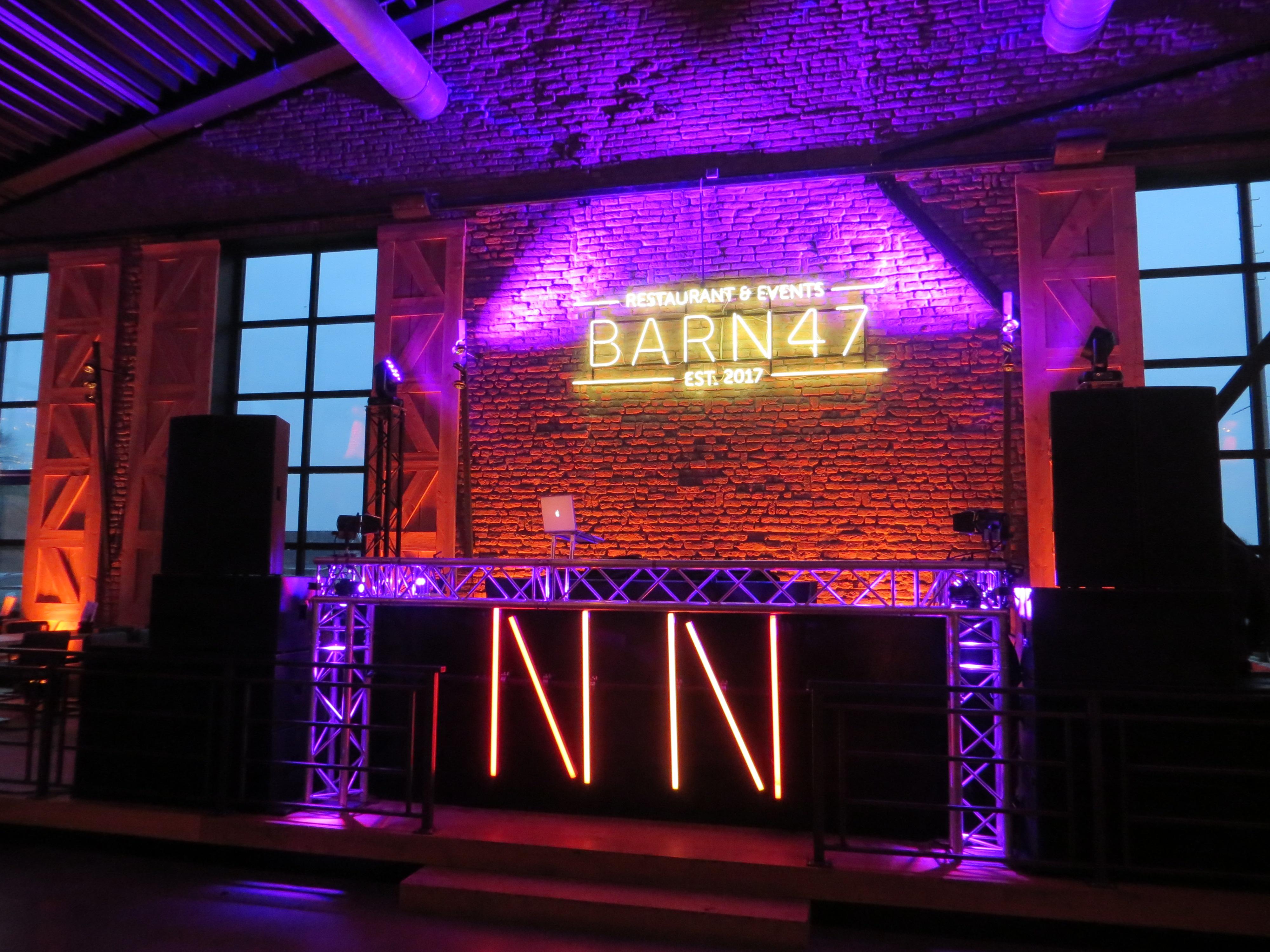 DJ Barn47 Ed Groven Bedrijfsfeest