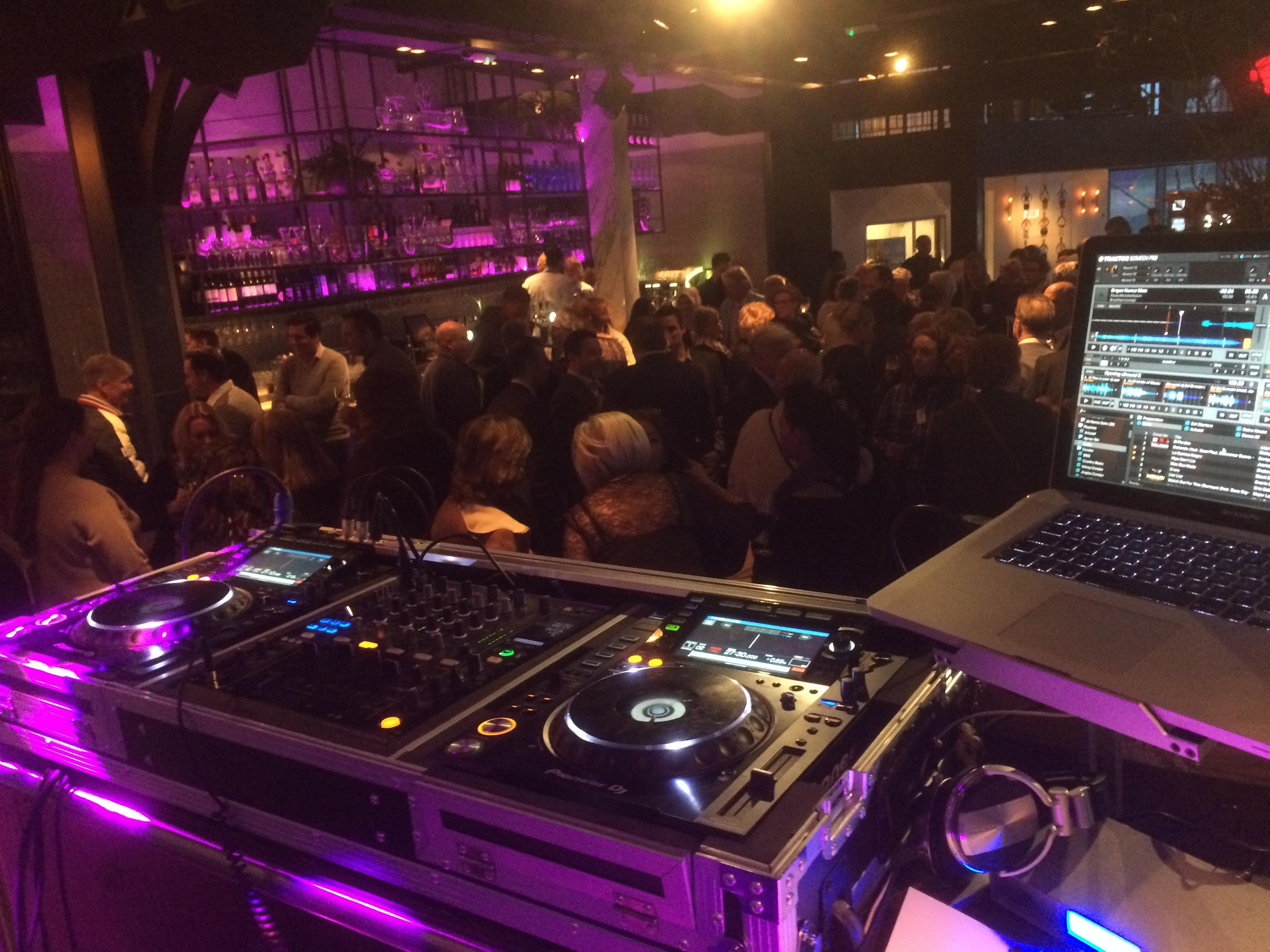 DJ Ed Groven bedrijfsfeest